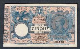 5 Lire Vitt. Em. III° 17 06 1915 Sup  LOTTO 1302 - Italia – 5 Lire