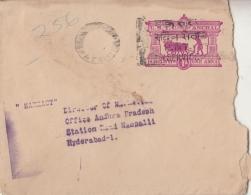 Travancore Cochin  1A  Postal Stationary Envelope  With Slogan   #  10517  D Inde Indien - Travancore-Cochin