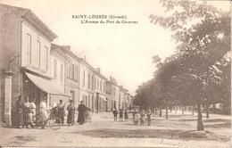 SAINT-LOUBES (33) L'Avenue Du Port De Cavernes - France