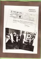 LILLE - PHOTO Publicité Bascule BERKEL - Boucherie CABY Rue De La Gare + 1 CPA- Document RARE- Lire Descriptif - 3 Scans - Lille