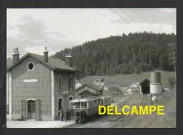 DD / CHEMINS DE FER DU DOUBS / AUTORAIL DE DION & BOUTON EN GARE DE MAICHE - Stations With Trains