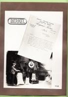 ALGER - PHOTO Publicité Bascule BERKEL - Café Et Poivre REGNIER Frère + 1 CPA - Document  - Lire Descriptif - 3 Scans - Algiers