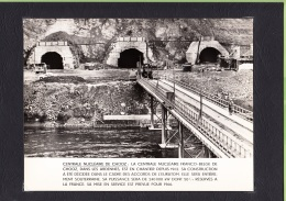 CHOOZ - Construction 1962 Centrale Nucléaire Franco Belge , Euratom + 1 CPA -  Lire Descriptif - 2 Scans - Frankreich