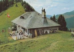 18 / 7 / 44 -    AU  PACCOT, AU - DESSUS  DE  CAUX, Type Pur De L'architecture De Montagne Des Hauts De Montreux - C P M - 1916-22: Oblitérés