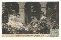 75 - (PARIS) - Mi-Carême 1906 - La Reine Du Syndicat Des Halles - - Non Classés