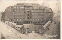 Deutschland - Bade-Wurtemberg - Mannheim - Mannheim A. Rhein - Liselotteschule - Mannheim