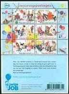 MNH Block FACE VALUE Verjaardagspostzegels 2018 (VEN11-19) - 2013-... (Willem-Alexander)