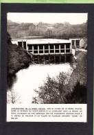 BASSE MAULDE - Photo Barrage Hydroélectrique EDF  En 1960 + 1 CPA -  Lire Descriptif - 2 Scans - Unclassified