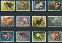 1924 - CHINA 1960 Zuchtformen Des Goldfisches Sauber Gestempelt - 1949 - ... République Populaire