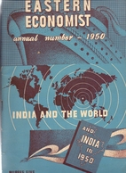 Magazine - Tijdschrift - The Eastern Economist - India And The World - Annual Number 1950 - Livres, BD, Revues