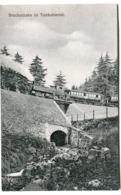Brockenbahn Tumkuhlental Bergbahn Mit ZUG Auf Brücke BROCKEN Hotel Um 1908 - Braunschweig