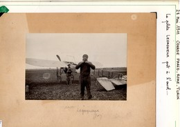 Aviation 18 Photos De Pilotes Précurseurs Lelagneux Vidard Farman Chevet Renault... - Aviation