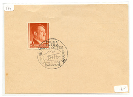 Reich Generalgouvernement, Zweites Tatra Bergsportfest Special Pmk Zakopane 1942 On Postkarte B180702 - Besetzungen 1938-45