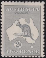 Australia   .    SG   .    35     .   Wm  Narrow Crown     .           **            .      MNH   .   /   .    Postfris - 1913-48 Kangaroos