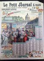 Calendrier Le Petit Journal 1907 - Calendriers