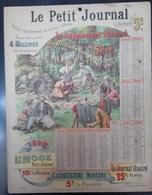 Calendrier Le Petit Journal 1898 - Calendriers