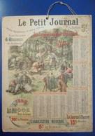 Calendrier Le Petit Journal 1898 - Grand Format : ...-1900