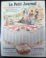 Calendrier Le Petit Journal 1894 - Calendars