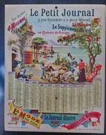 Calendrier Le Petit Journal 1897 - Calendars