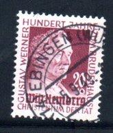 Wurttemberg /  N 45 / 20 + 10 P Lilas  / Oblitéré - Wurttemberg