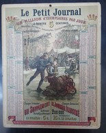 Calendrier Le Petit Journal 1890 - Calendars