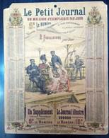 Calendrier Le Petit Journal 1891 - Calendars