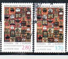FRANCE  OB CACHET ROND YT N° 112/13 - Service
