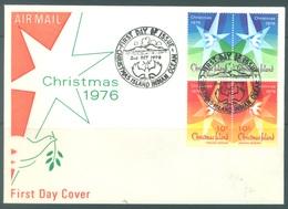 CHRISTMAS - FDC - 2.10.1976  - CHRISTMAS - Yv 65-68 - Lot 17318 - Christmas Island