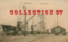 OF < 59 ☺♦♦ DUNKERQUE - QUAI FREYCINET - GRUE CHAMBRE Du COMMERCE Et CARGO - BATEAU NAVIRE - Dunkerque
