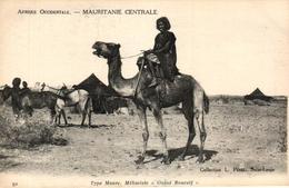 MAURITANIE CENTRALE - TYPE MAURE MEHARISE OULAD BOUCEIF - Mauritanie