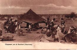 MAURITANIE - CAMPEMENT PRES DE BOUTSLIMIT - Mauritanie