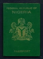 NIGERIA - Complete Expired Passport.  Good Cover. All Used Pages Scanned. - Historical Documents