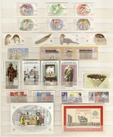 Allemagne DDR 1987 - Petit Lot De Timbres MNH - YT 2726 à 2753 + BF 86 à 88 - 2 Scans - Neufs