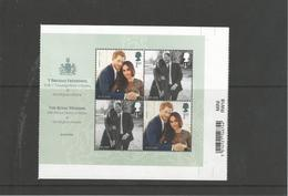 Great Britain 2018 Mih. 4212/13 (Bl.114) Royal Wedding. Prince Harry And Meghan Markle MNH ** - Nuevos