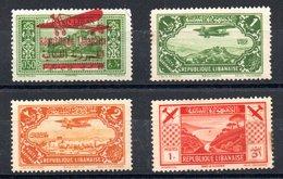 Grand Liban Gross-Libanon Luftpost Y&T PA 29*, PA 39*, PA 40*, PA 49* - Gross-Libanon (1924-1945)