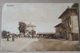 RAUSCEDO (PORDENONE), PIAZZA ANIMATA   VIAGGIATA 1933 - Italie