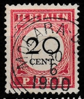 """Ned Indie 1892 20ct Port NVPH 18 """"""""MOEARA-Doewa"""""""" (Zeldzaam, Rare) - Nederlands-Indië"""