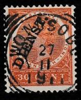 """Ned Indie 1911 Dienst 30 Ct. NVPH D24 """"""""WONOSOBO"""""""" - Nederlands-Indië"""