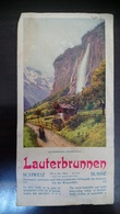 Lauterbrunnen Schweiz - Dépliants Touristiques