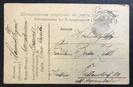 Corrispondenza Prigionieri Di Guerra In Franchigia 1919 Cod.bu.125 - Italia