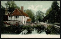RB 1206 -  Early FGO F.G.O. Postcard - Newtown Water & Swan Inn Newbury Berkshire - Other