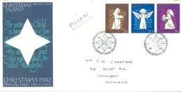 CHRISTMAS - FDC - 18.10.1982  - CHRISTMAS -  Yv 168-170 - Lot 17325 - Christmas Island