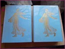Encyclopédie Des Postes Télégraphes Et Téléphone édition Rombaldi 1957 2 Volumes Timbres Courrier - Administrations Postales