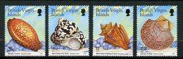 Iles Vierges Britanniques, Yvert 902/905, Scott 915/918, MNH - British Virgin Islands