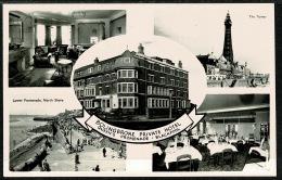 RB 1208 -  1961 Real Photo Postcard - Bolingbroke Hotel - Blackpool Lancashire - Blackpool