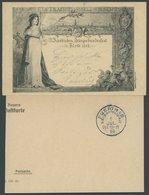 BAYERN PP 7C29/02 BRIEF, Privatpost: 1898, 5 Ziffer IX, Fränkisches Sängerbundfest, Gebraucht, Prachtkarte - Bavaria