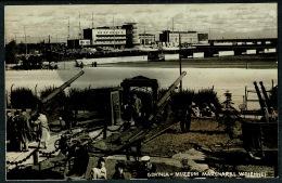 RB 1208 -  Real Photo Military Postcard - Gdynia Poland - Muzeum Marynarki Wojennej - Poland