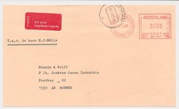 Brieffront Expresse Arnhem 1987 - Strookje P 4578 Z - 1949-1980 (Juliana)