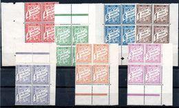 INDE - YT Taxe N° 12 à 18 Blocs De 4  - Neufs * - MH - Cote: 34,80 € - India (1892-1954)