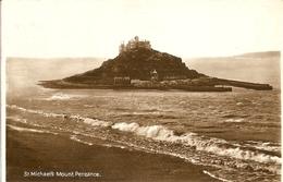 CPA Royaume-Uni 1932 - St Michael's Mount, Cornwall - St Michael's Mount